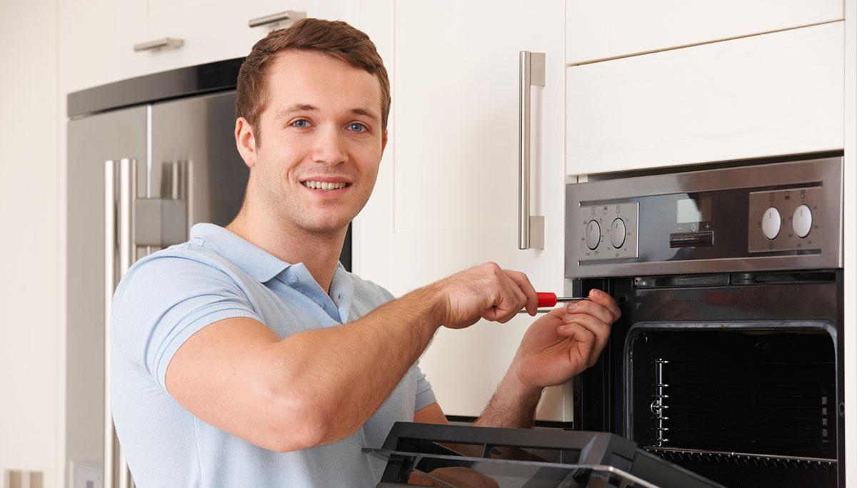 Ремонт дверцы духовки электроплиты своими руками